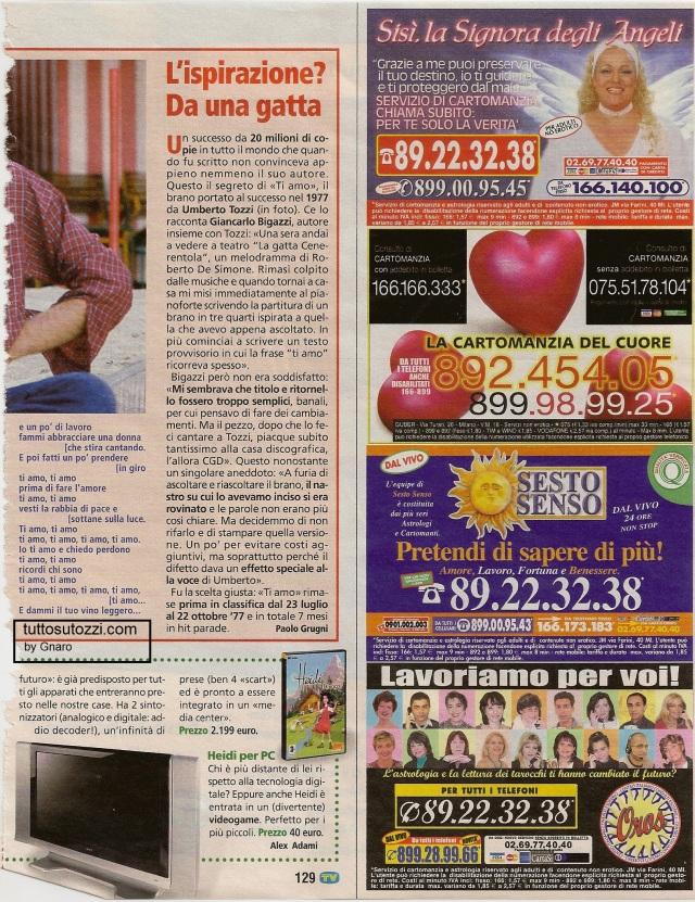 TV Sorrisi e Canzoni pag. 129