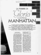 La febbre di Gloria colpisce Manhattan