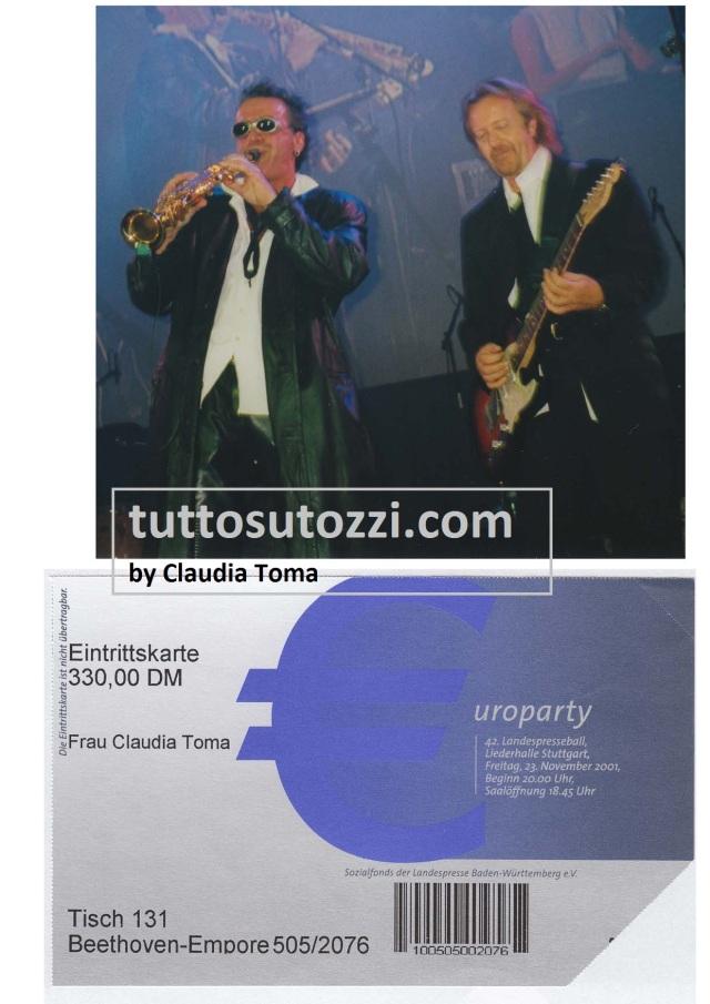 13.11.2001 Stoccarda