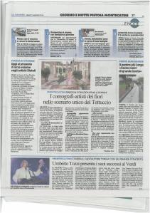 La Nazione 03.05.2014