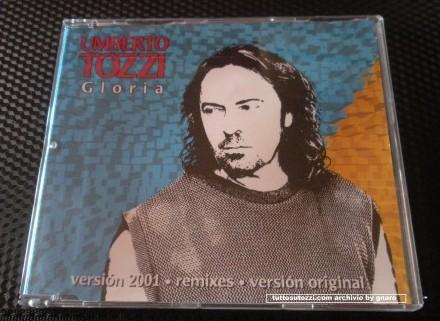 """CD singolo """" gloria versione 2001"""""""