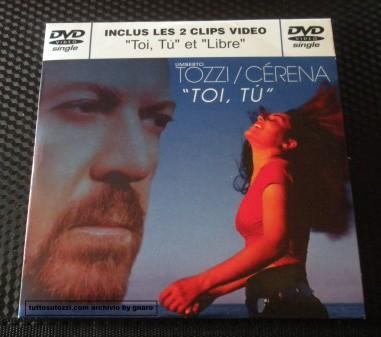 """DVD singolo  """"TOI, TU """""""