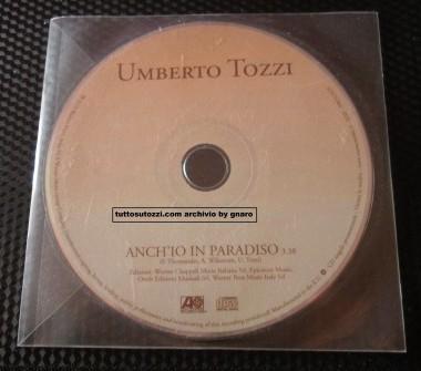 """CD singolo """" anch'io in paradiso """""""