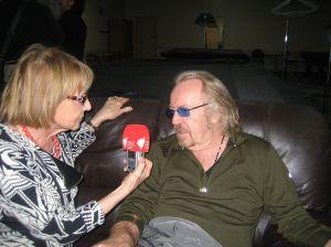 Luisa Perugini con Umberto Tozzi — presso Club Marconi.