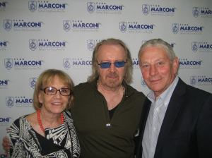 Luisa Perguini, Umberto Tozzi e Vince Foti — presso Club Marconi.