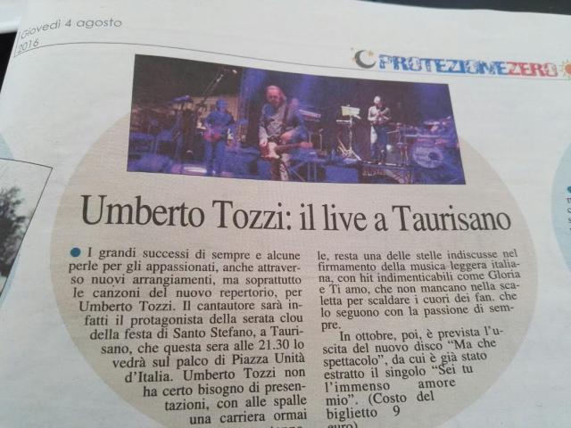 il live a Taurisano