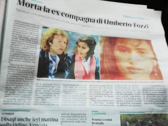 Trovata morta S. Scialò