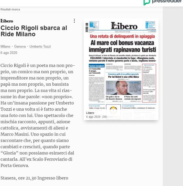 CICCIO RIGOLI